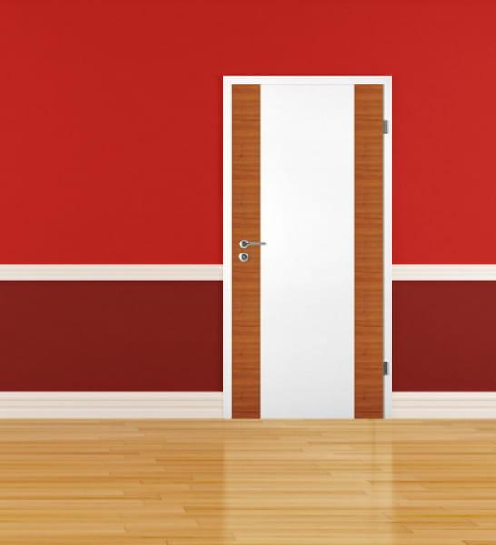 Ambiente für Weißlack Zimmertür Finish 10