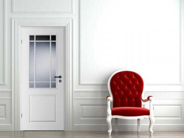 Ambiente für Stiltür Swing 7 Weißlack