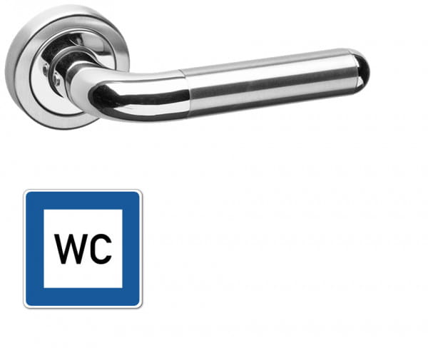 WC-Garnitur Griff Alicante