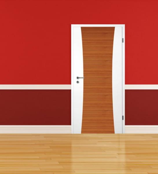 Ambiente für Weißlack Zimmertür Finish 8