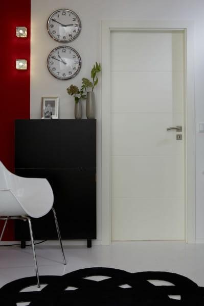 Ambiente für Styletür 1 Weißlack