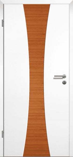 Weißlack Zimmertür Finish 6