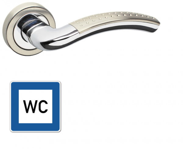 WC-Garnitur Griff Valencia