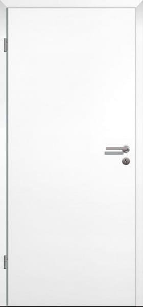 Weißlack ähnlich RAL9016 Innentür eckige Designkante