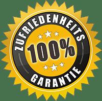 100% Zufriedenheitsgarantie