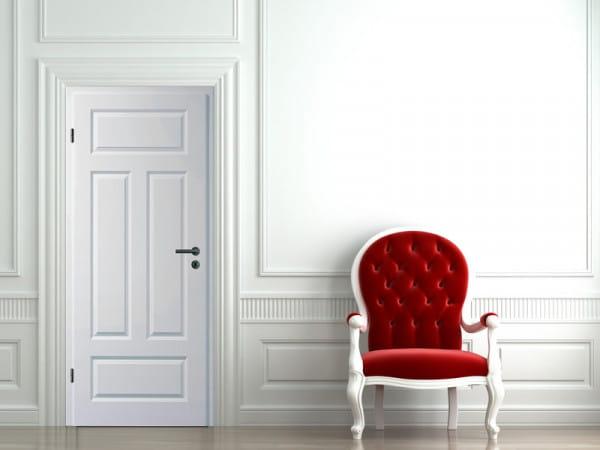 Ambiente für Stiltür Swing 14 Weißlack