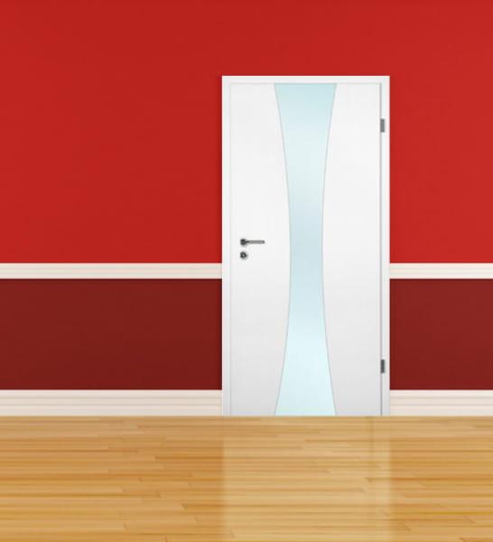 Ambiente für Weißlack Zimmertür Finish 5