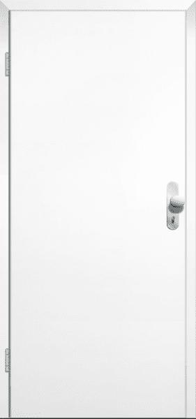 Weißlack Wohnungseingangstür