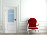 Ambiente für Stiltür Swing 12 Weißlack