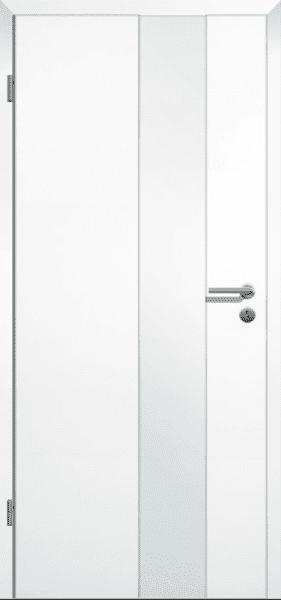 Weißlack Zimmertür Finish 3