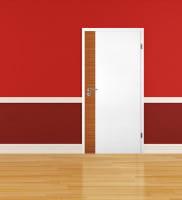 Ambiente für Weißlack Zimmertür Finish 9