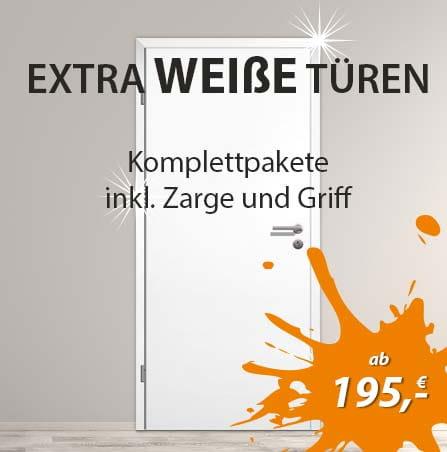 Extra weiße Türen