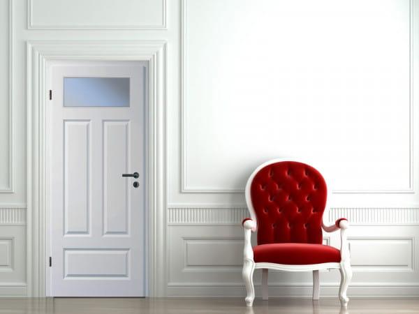 Ambiente für Stiltür Swing 13 Weißlack