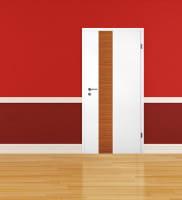 Ambiente für Weißlack Zimmertür Finish 4