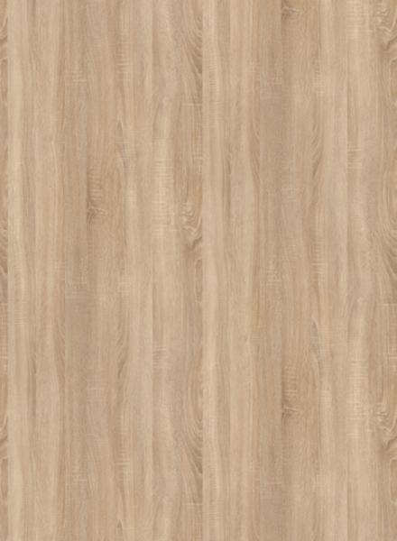 Oberfläche von Styletür 3 Eiche sägerau CPL mit Lisenen