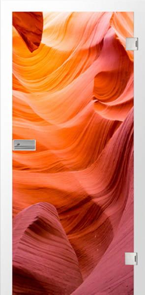 Ganzglastür Color Höhle