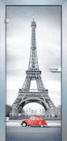 Ganzglastür Color France