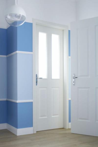 Ambiente für Stiltür Swing 10 Weißlack