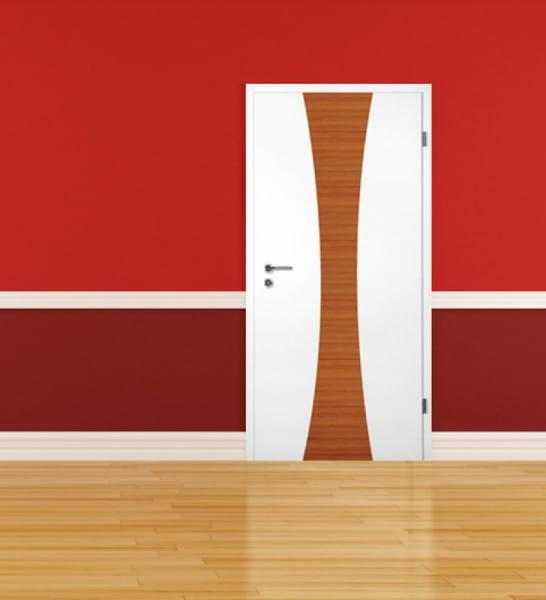 Ambiente für Weißlack Zimmertür Finish 6