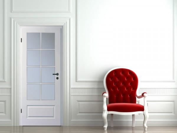 Ambiente für Stiltür Swing 16 Weißlack
