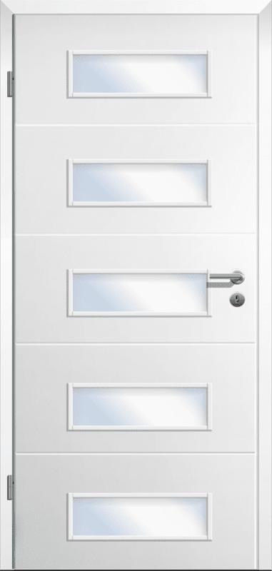 Design Innentür Style 1 mit fünf Lichtausschnitten