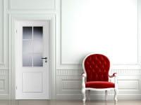 Ambiente für Stiltür Swing 5 Weißlack