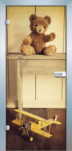 Ganzglastür Color Bear