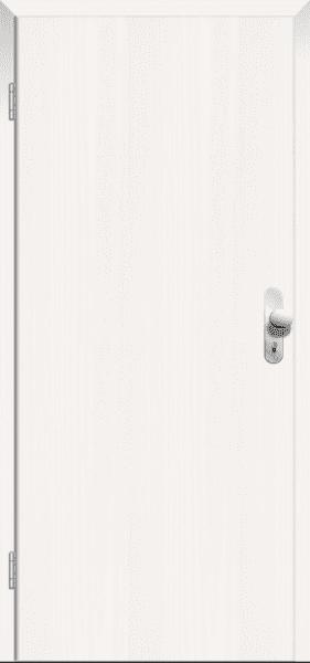 Esche weiß deckend CPL Wohnungseingangstür
