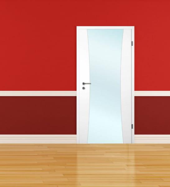 Ambiente für Weißlack Zimmertür Finish 7