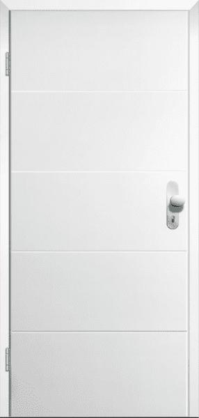Weißlack Wohnungseingangstür Style 1