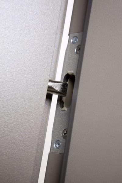 Safety First Wohnungseingangstür Weißlack
