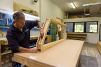 Schrägelemente - Tür und Türzarge auf Maß gefertigt