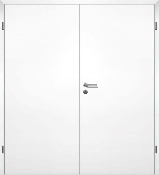 Weißlack Innentüren zweiflügelig mit Zarge